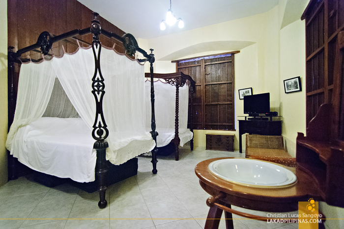 Guest Bedroom at Casa Caridad in Vigan City