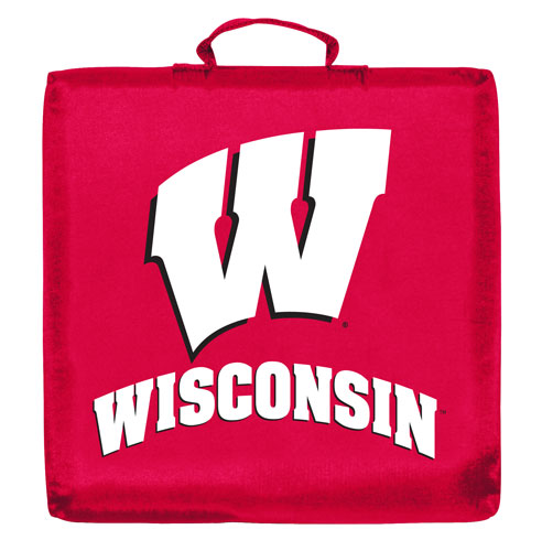Wisconsin Badgers Stadium Cushion