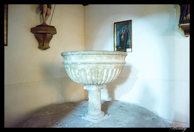 Pila bautismal Iglesia de San Andrés