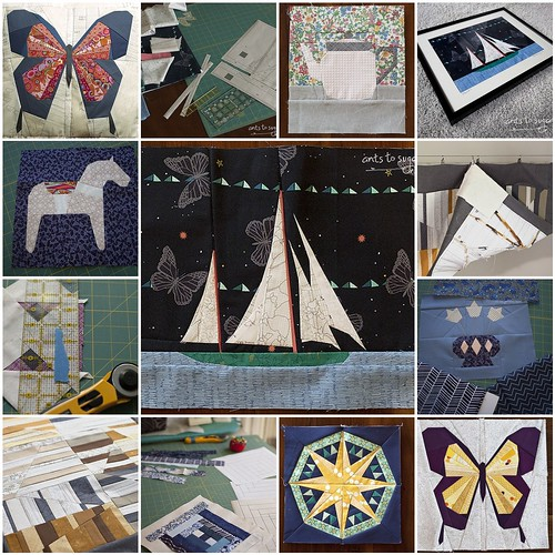 Things I've paper pieced