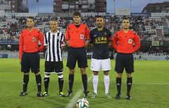 TRÍO ARBITRAL Y CAPITANES FC CARTAGENA 0 UCAM MURCIA CF 0