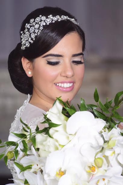 Liat | crystal flower headband - Bridal Styles Boutique