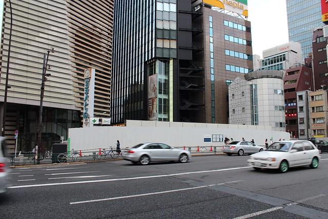 土浦亀城作の三原橋センター解体中 (22)