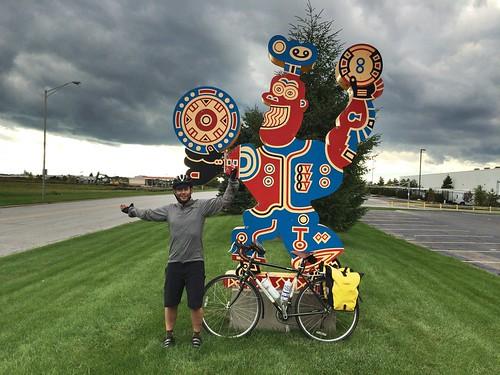 Strange Carl Buddig effigy.