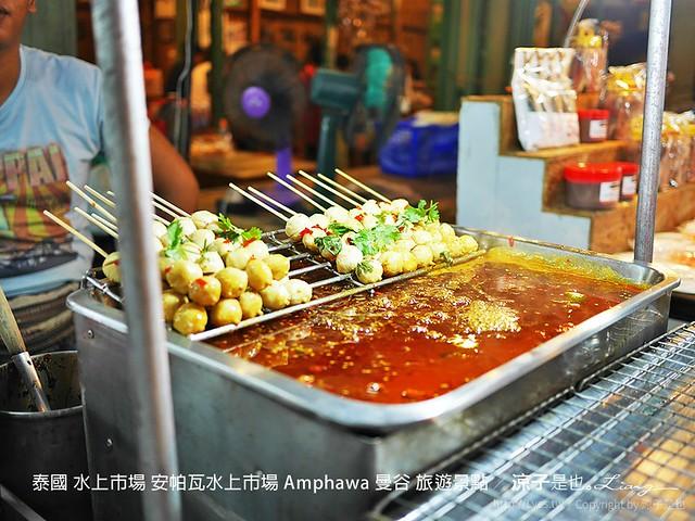 泰國 水上市場 安帕瓦水上市場 Amphawa 曼谷 旅遊景點 5