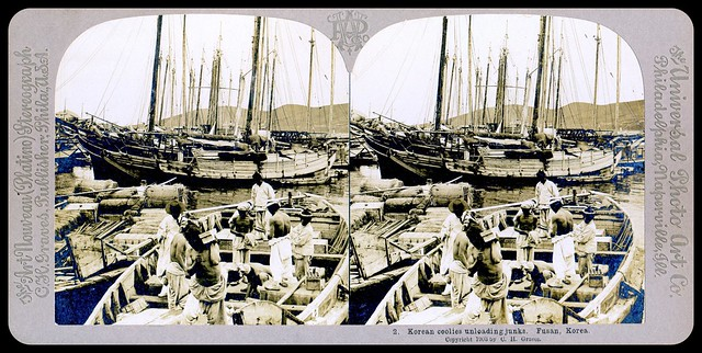 A VISIT TO OLD KOREA in 1902, No.2 --  Korea As it Was, Captured in 3-D by HERBERT G. PONTING