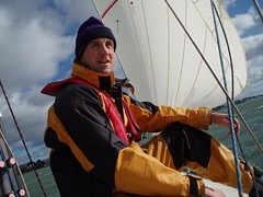 Sailing in Poole Harbour (12-Feb-05) Image