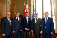 Делегация Совета Федерации во главе с Николаем Федоровым встретилась с Председателем Палаты представителей Генеральной Ассамблеи Уругвая