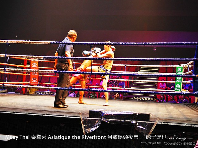 Muay Thai 泰拳秀 Asiatique the Riverfront 河濱碼頭夜市 11