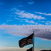 Flag with Clouds