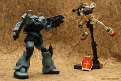 RX-78-2 vs Gouf Custom #2