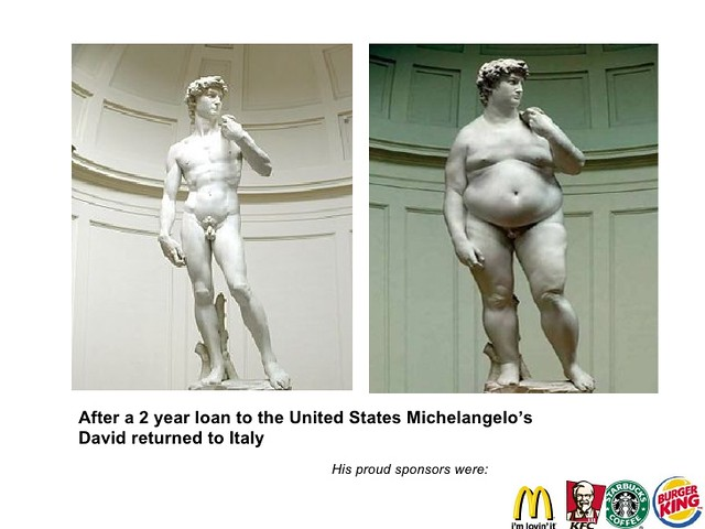 """FIRENZE ARCHEOLOGIA e RESTAURO ARCHITETTURA: """"NOT LOVIN IT' - Unhappy Meal: McDonald's Battles to Bring Golden Arches to Heart of Florence Fast-food giant launches $20-million lawsuit after Italian city says no! The WSJ  04 November (2016)."""
