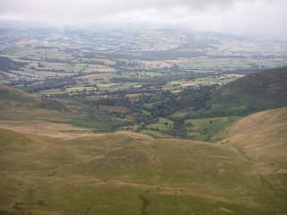Cwm Llwch and Libanus, from Craig Cwm Llwch