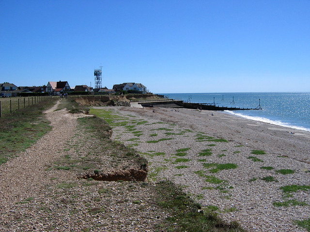 The beach at Selsey