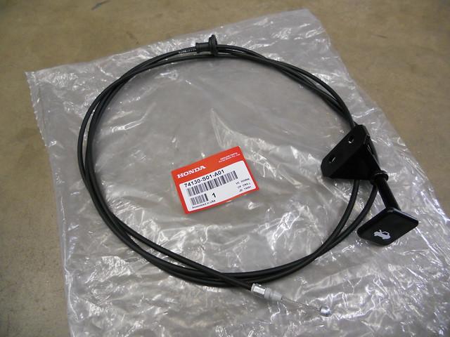 honda civic hood release cable  oem    ebay