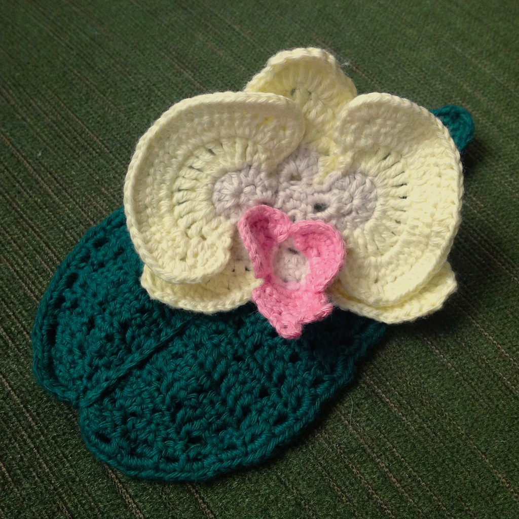 Suvis crochet orchid orchid ccuart Gallery
