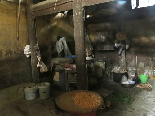Traditional kitchen in Ban Pho Village