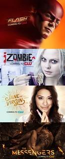 2014年CW、CBS、ABC、FOX、NBC 美剧续订/砍剧情况