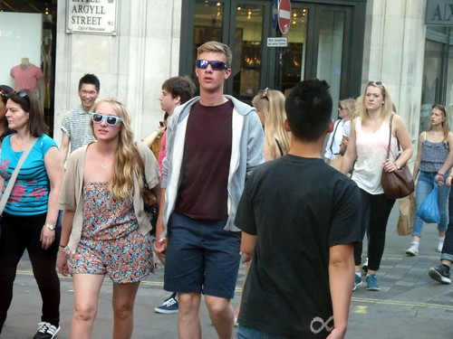 Young tourists