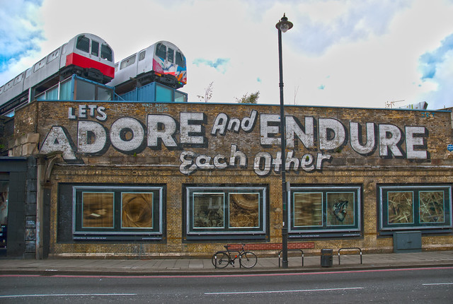 Shoreditch street art from Flickr via Wylio
