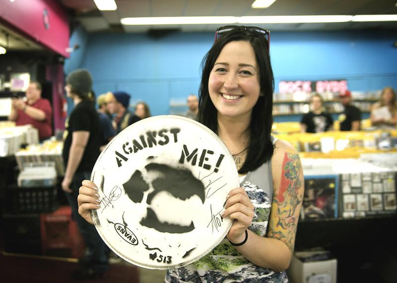 Against Me! @ Vintage Vinyl