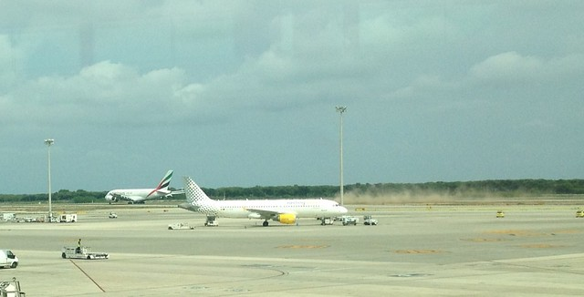 Airbus A380 take off