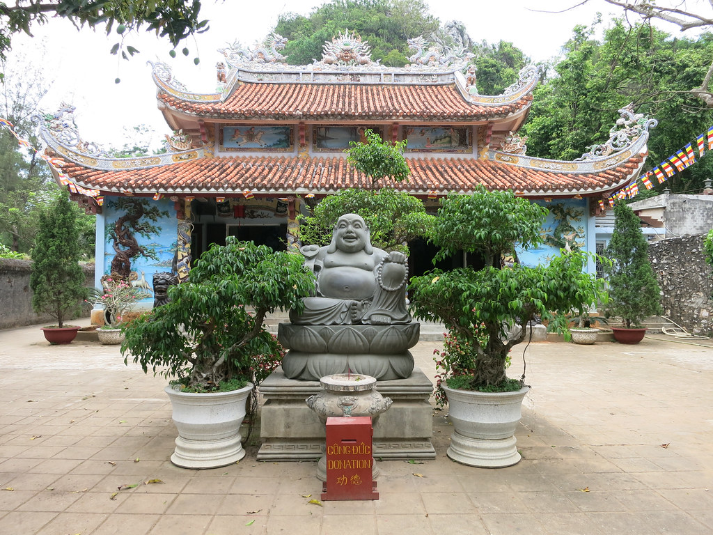 temple with fat buddha