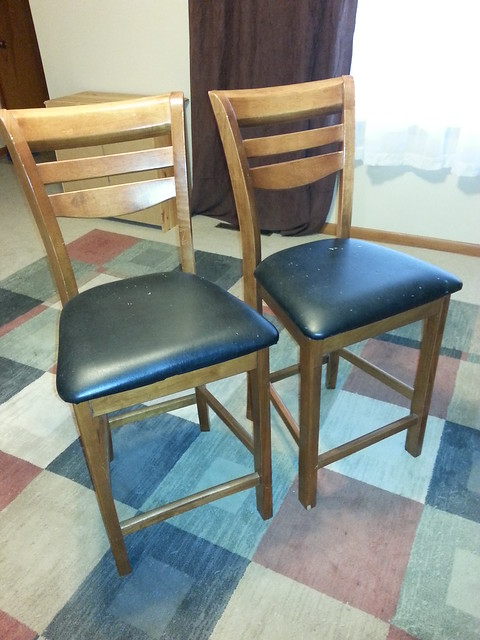 SOLD Two bar stools used at breakfast bar purchased for  : 14287350213d412352ca7z from www.flickr.com size 375 x 500 jpeg 116kB