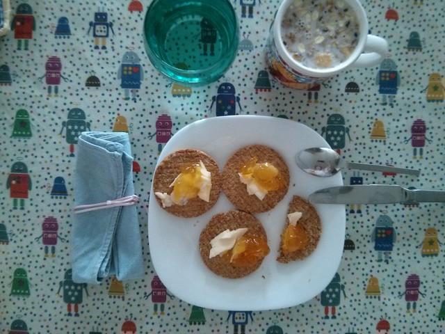 desayuno - selfie en la cuchara