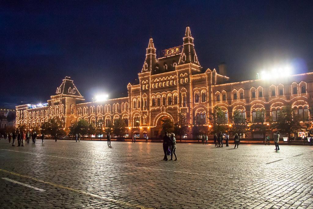 Москва. Полуношная. Прянечный ГУМ