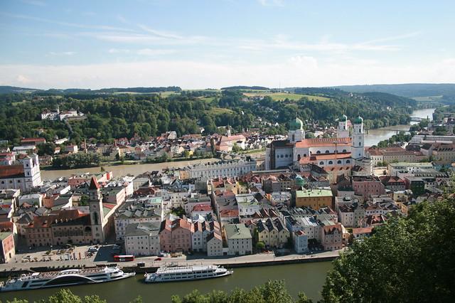 Passau, Panorama (I)