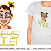 Geeks Rule! Nerd Girl T-Shirt