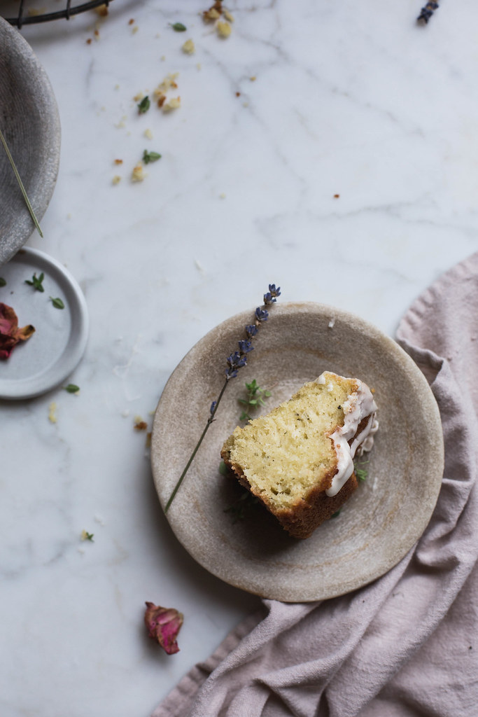 Fennel Rose Olive Oil Cake