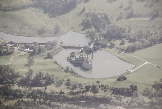 Leeds Castle from the sky