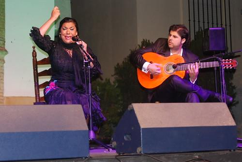 AionSur 14470852254_97f887a589_d La voz de 'Macanita' y el baile de Manuel Liñán templan con brillantez el fresco de la quinta noche de Al gurugú Flamenco