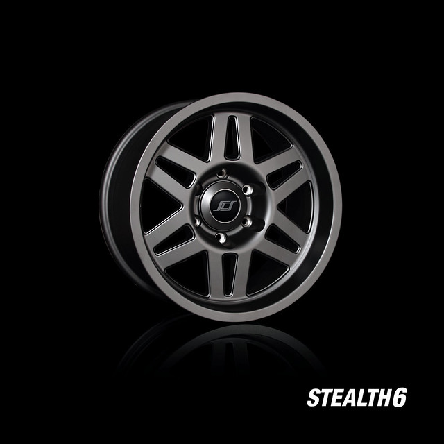 Stealth 6 SCS Wheels for Toyota Trucks