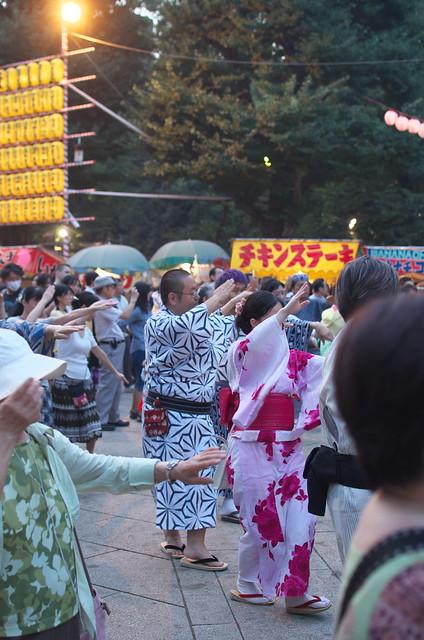 靖国神社 みたままつり 平成26年(2014年)7月15日