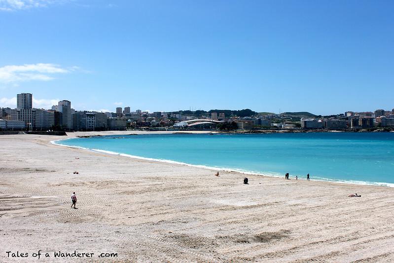 A CORUÑA - Praia de Riazor
