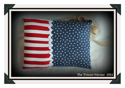 In Full Glory Pillow backside