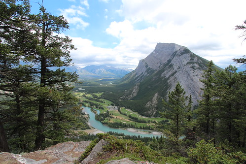 My visit to Tunnel Mountain Banff Alberta Canada