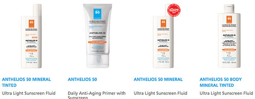La Roche Posay Anthelios SPF50+ Dry Touch Gel-Cream SPF 50 Sunscreen Europe