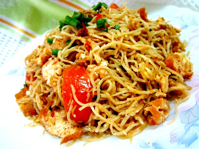 Belcan fried noodles