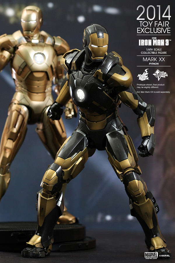 Hot Toys - Iron Man 3 - Python (Mark XX) Collectible Figure_PR10