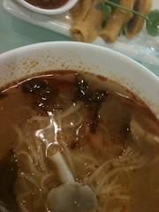 spicy thai mushroom soup