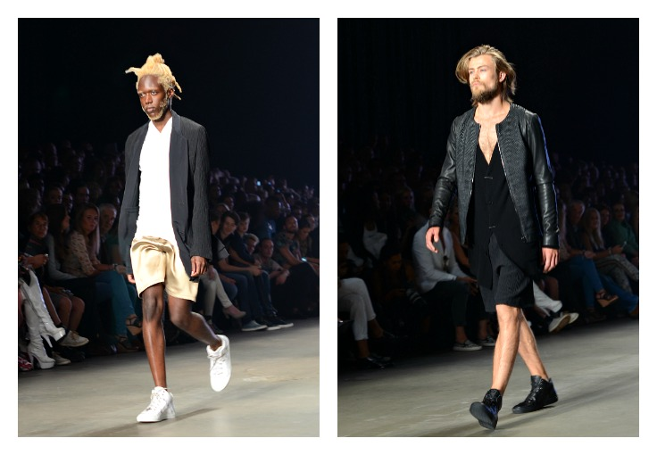 Collage Tony Cohen, Fashion Week Amsterdam 2014, Homme