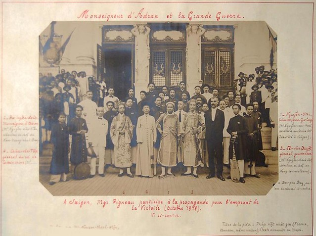 SAIGON 1918 - Monseigneur d'Adran et la Grande Guerre - Giám Mục Adran và cuộc Đại chiến: vở cải lương