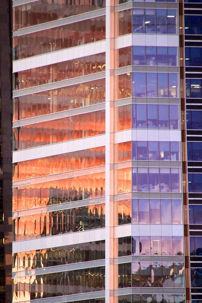 Glistening orange
