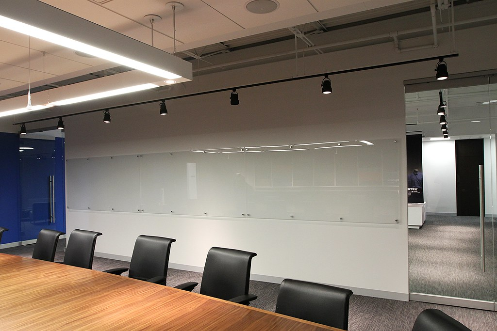 Gentil Glass Dry Erase Boards Installation Image Wall Of Glass Dry Erase Boards  Installation Image