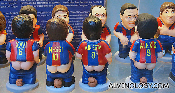Team FCB Caganers