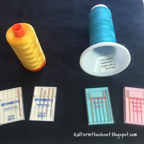 Needles and thread